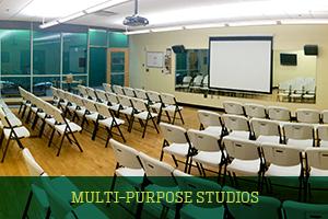 Multi-Purpose Studios for Fitness Classes and Rentals