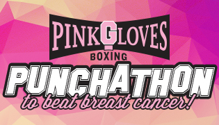 Pink Gloves Boxing Punch-A-Thon