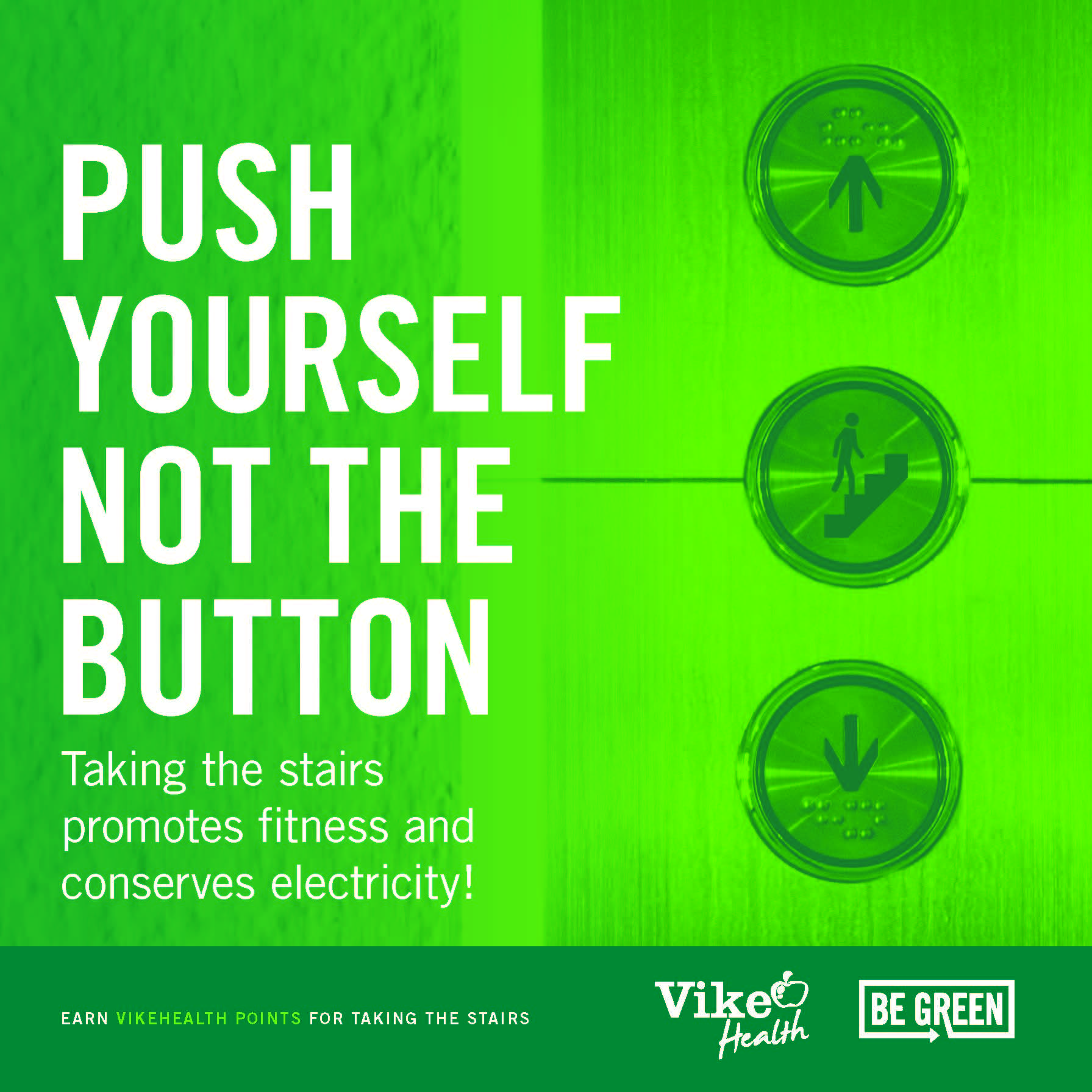 Push Yourself Not the Button