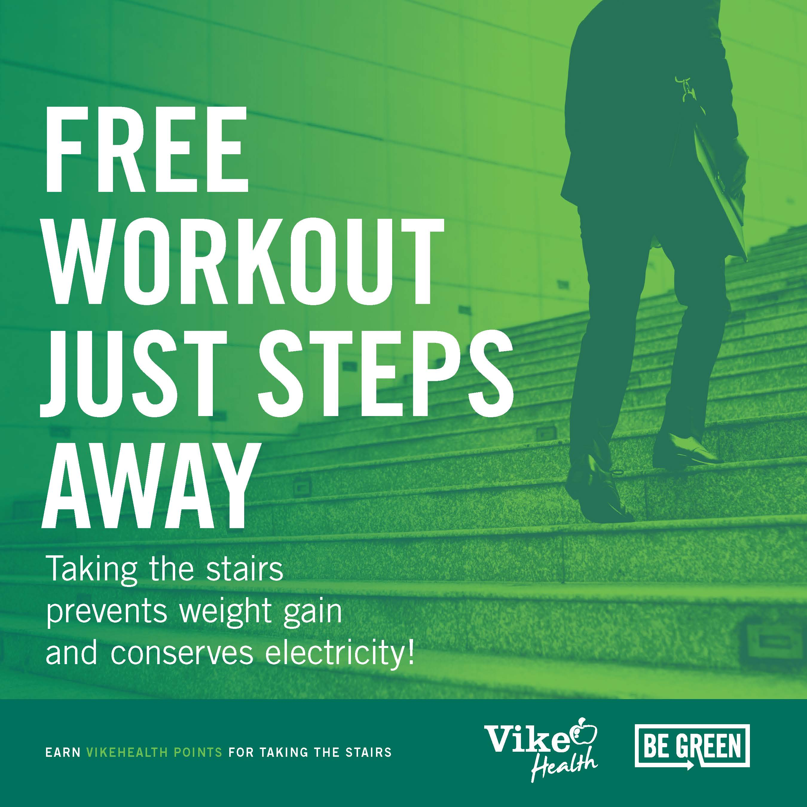 Free Workout Just Steps Away