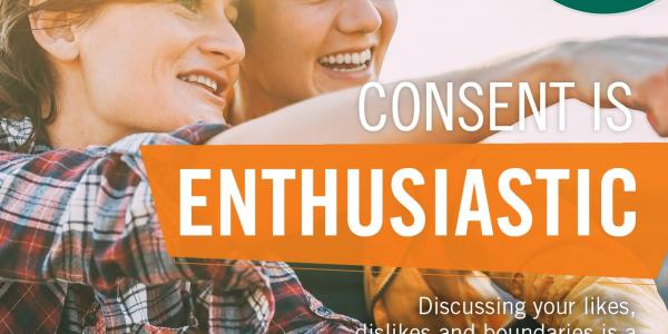 Yes means yes: Consent is enthusiastic!