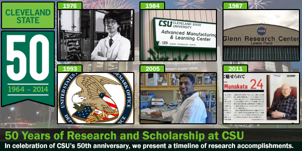 CSU Research 50 Years