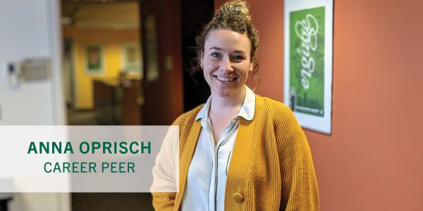 Career Peer Highlight Anna Oprisch