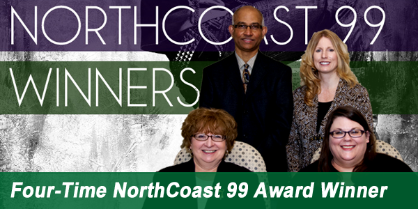Four-Time NorthCoast 99 Award Winner