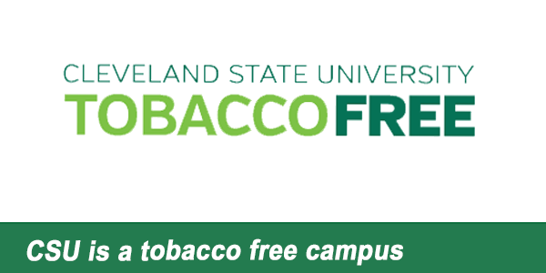 CSU is a tobacco free campus