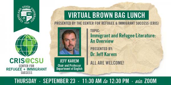 CRIS - Brown Bag September 23, 2021