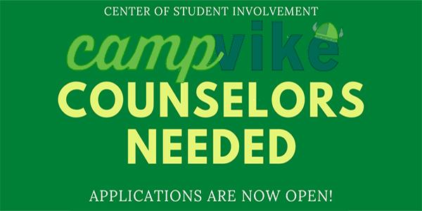 Apply to be a Camp Vike Counselor!