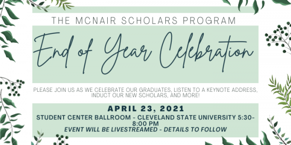 end of the year celebration - april 23, 2021
