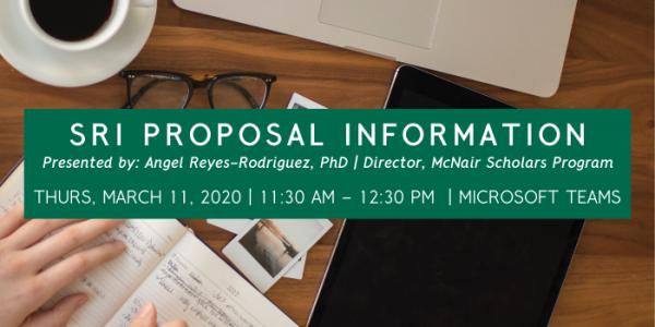 proposal info