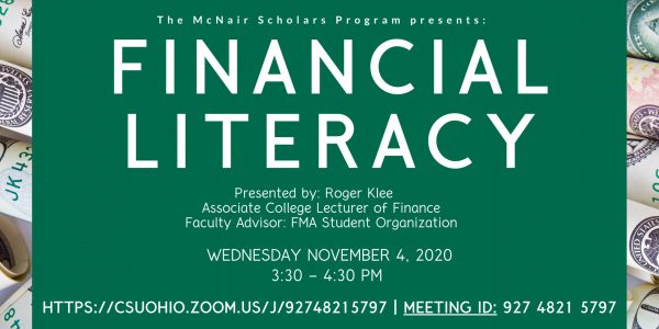 financial literacy flyer