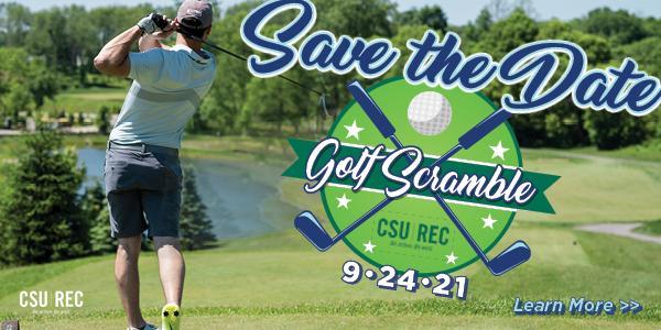 CSU Rec Golf Scramble STD banner
