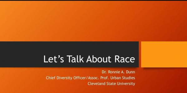 Let's Talk About Race with Dr. Ronnie Dunn