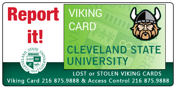 Report Lost or Stolen Viking Cards