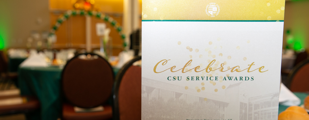 Cleveland State University celebrates faculty and staff achievements