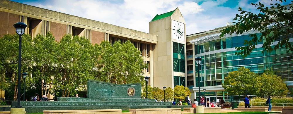 Cleveland State University campus