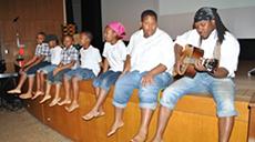 Photo: People playing music Kuumba Arts Fest
