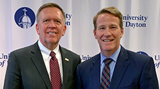 Randy Deike with John Husted