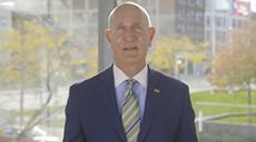 Cleveland State University President Harlan Sands