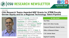 Cleveland State University Office of Research Newsletter Volume 7, Issue 9