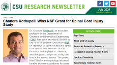 image of July 2021 CSU Research newsletter