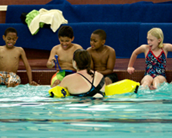 Swim School at the CSU Rec