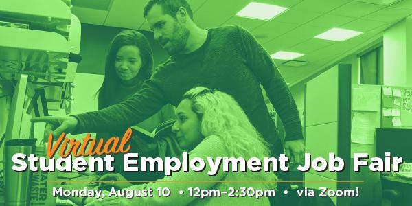 Virtual Student Employment Job Fair