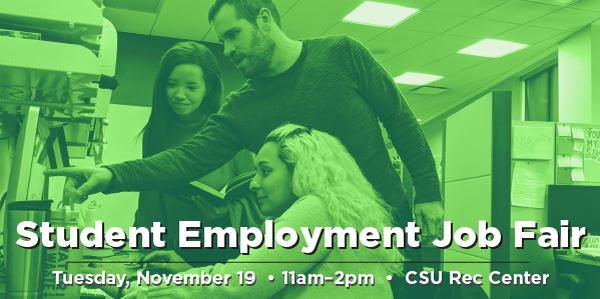 Student Employment Job Fair