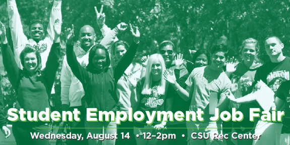 CSU Student Employment Job Fair
