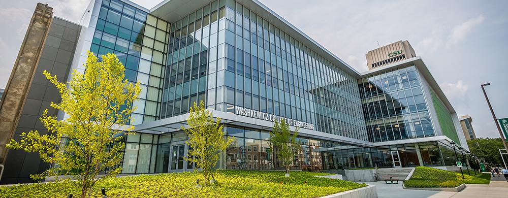 Cleveland State University LEED-certified Washkewicz Hall building