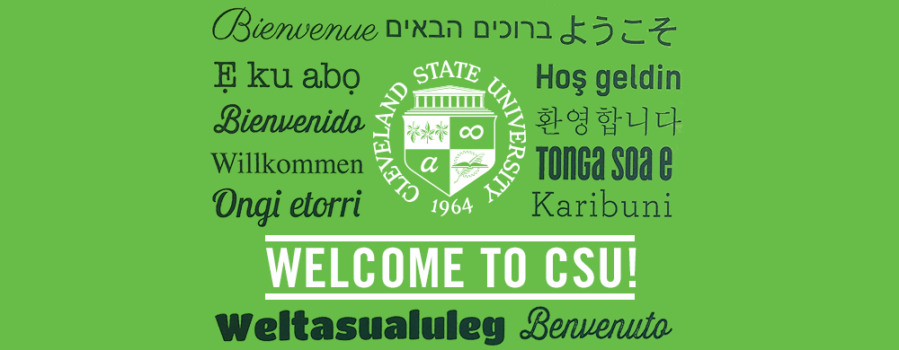 Welcome to CSU!